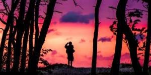 Sonnenuntergang Duehne